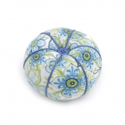 S & W Collection PCT280 | Tomato Pin Cushion | Lydia Pattern | 10 x 10 x 8cm