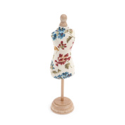 S & W Collection PCDF282 | Dress Form Pin Cushion | Fairfield Pattern
