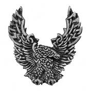 CELTIC EAGLE, Original Artwork, Expertly Designed Lead Free Pewter Biker PIN