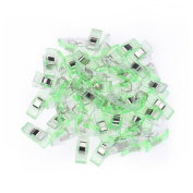 Mumustar 50 PCs Plastic Quilt Hanging Clips Clamp Holder Clear Sewing Craft Quilt Binding Plastic Clips Clamps Pack