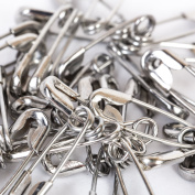 Safety pins – 19 mm to 85 mm – choice of size – colour