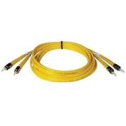 Tripp Lite N352-01M - Duplex Singlemode 8.3/125 Fibre Optic Patch Cable ST/ST - 1M