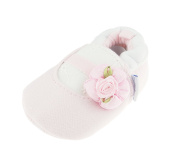 Adorable Baby Girls Boys Pram Padder Booties Shoes Pink Flower