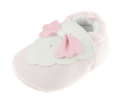 Adorable Baby Girls Boys Pram Padder Booties Shoes Pink Tuxedo