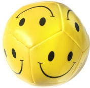 Soft Ball Yellow Smiley Face Play Kids Indoor Autdoor Party Bag Filler Squeeze Toy Fun
