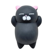 HUHU833 Cute Mochi Squishy Cat Squeeze Healing Funny Kids Kawaii Toys