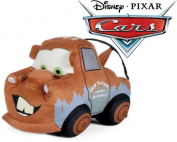 """Cars - Plush toy truck crane brown Tow """"Mate"""" Mater 24cm Quality super soft"""