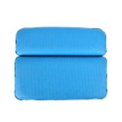 37YIMU 1 Pcs Inflatable Bath Spa Pillow Back Neck Cushion Bathtub Neckrest,Sea Blue