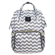 HEYI Nappy Tote Bag - Travel Backpack Organiser, Chevron