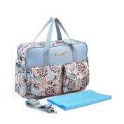 ZAMAC Large Baby Mummy Waterproof Nappy Changing Bags With Changing Mat Nappy Bag