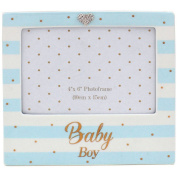 Mad Dots Baby Boy Photo Frame (4 x 6ins)