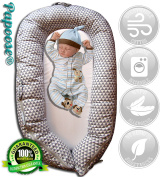 Papoose Soft and Cuddly Baby Sleeping Pod 0 - 8 Months Lounger