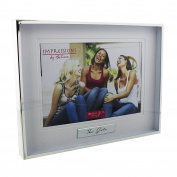Juliana Shiny Silverplated Photo Frame 'The Girls' 18cm x 13cm
