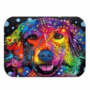 KKY-ENTER Modern Minimalist 3D Stereo Colour Dog Pattern Printing Carpet Kitchen Absorbent Non-slip Mats Bathroom Non-slip Mat, 40 * 60 Cm