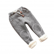 Sunyoyo 3~8 Years old, Baby Kids Bottoms Leggings Thick Lined Pants Boy Girls Winter Warm Trousers