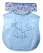 Baby Boys Girls Bib Rocking Horse Hook and loop Bib P3603