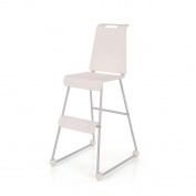 WANG Children's Dining Chair Multifunctional Baby Learning To Eat 50 * 43 * 82cm,White