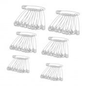 Clothing Trimming Fastener Tool Clip Buttons Safety Pins 60 Pcs