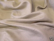 Faux Suede Suedette Fabric Material STONE 1003 - All Sizes Bulk Discounts