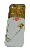 Kleiber Brass Safety Pins