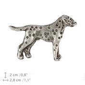 Dalmatian (silver), Pin Art-Dog