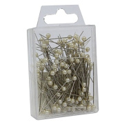 FloristryWarehouse Pearl Headed 6cm Florists Pins x 144 Ivory