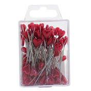 Red Heart Shaped Pins 5cm