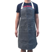 Heavy Duty Waxed Canvas Workman Engineers Woodworking Apron Water Oil Resistant With Adjustable Stripe ,Perfect For Machinist, Carpenter, Kitchen, Garden, Pottery, Craft Workshop, Garage