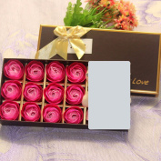 Valentine's Day gifts, wedding gifts, 12 soaps, roses, birthday gifts, Christmas gifts, Halloween gifts,gules