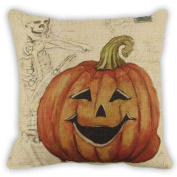 Halloween Theme Cushion Cover, Indexp Happy Festival Home Party Decoration Pillowcase