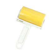 MCC Washing remove lint dog hairs Reusable Cleaner Lint Roller Hair Remover Brush , yellow