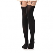 Viskey Sexy Tattoo Cat Fake Over-the-knee Silk Stockings,Spider
