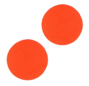 Kleiber Luminous Circles Reflective Stickers, Orange