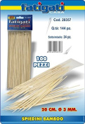 Fatigati Casa 100 BAMBOO Skewers 20 CM D .3 mm