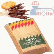 Dolomit Bamboo Wood Chopsticks - Skewer Kebabs - 1,000 Items