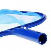 Danapp Blue Professional Plastic Leaf Rake Mesh Net Skimmer Clean Tool for Swimming Pool Pond Hot Tub Fountain Fish Tank