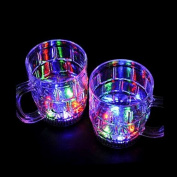 Colourful LED Flash Beer Glass
