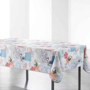 Douceur d 'Intérieur Gabriella Printed Tablecloth Rectangular Polyester Gabriella Polyester 240 x 150 cm Multi-Coloured