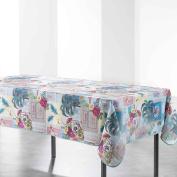 Douceur d 'Intérieur Tropik Rectangular Tablecloth Printed Tropik Polyester 240 x 150 cm Multi-Coloured