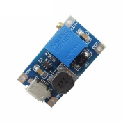 Thunder Light Upgraded Version 2A Booster Board DC-DC Adjustable Boost Module Wide Voltage Input with USB