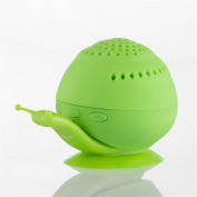 TWIFER Snail Portable Wireless Bluetooth Outdoor Stereo Speaker & Mobile Stand BU
