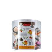 Estetica Belle Nature Bath Fizzers 30pcs 50g Chocolate Rasperry Orange Vanilla