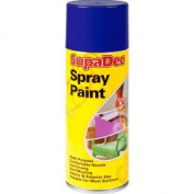 SupaDec Spray Paint Royal Blue 400ml