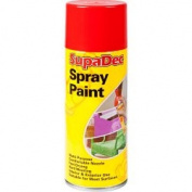 SupaDec Spray Paint 400ml Orange