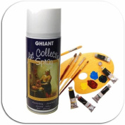 Ghiant Shiny Final Varnish Spray 400 ML - Oil Painting