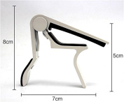 ZHJZ Folk Wood Vertical Guitar Capo Ukulele Universal Diacritical Folder Clip