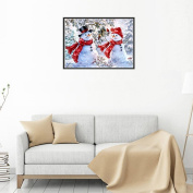 Wanshop® 5D Embroidery Paintings Rhinestone Pasted DIY Diamond Painting Cross Stitch Mosaic Room Decoration,Colourful