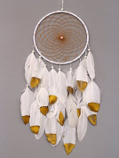 andensoner Handmade Wall Hanging Ornament Dream Catcher with Feathers Craft Gift