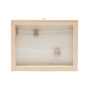 Picture Frame 3 D with Glass, Linen and Clamps