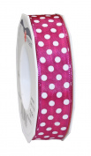 Präsent Polka Dots, Polyester, Pink, 11 x 11 x 3 cm